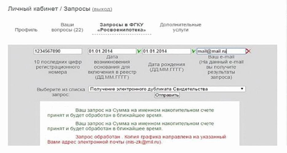 Изображение - Зачем нужен личный кабинет участника нис по военной ипотеке - инструкция по работе в сервисе lichniy-kabinet-zaprosy